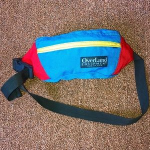 VINTAGE Multicolored Fanny Pack